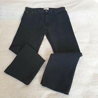 M&S Marks and Spencer Blue Harbour Black Jeans Men's Size W38 L31