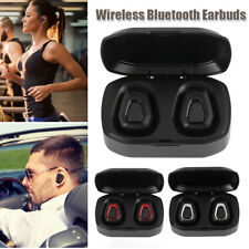 Wireless Bluetooth Earphone TWS In-Ear Headset Touch Control Noise Cancelling
