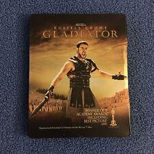 Gladiator (Blu-ray Disc, 2013, SteelBook) Damaged Case