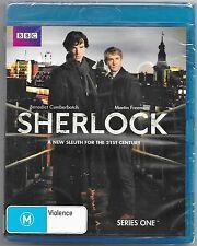 Sherlock : Series 1 Blu Ray(Benedict Cumberbatch)mber New Region B Free Post