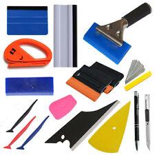 PRO Squeegee Felt Kit Car Vinyl Wrap Application Tools 10 Blades Window Tint