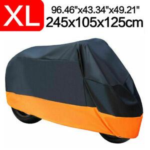 XL Motorcycle Bike Cover Waterproof For Harley Davidson Sportster 1200 883 XL883