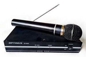 Optimus SD-202R Wireless Microphone