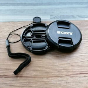 New Sony Lens Cap 49 52 55 62 16-50 18-55 A5100 A6000 Camera Protective Cover