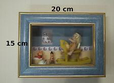 vitrine miniature,chambre bébé, décoration, maison de poupée,vitrine  02