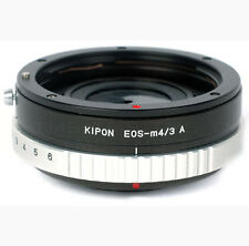 Lens ADAPTER - Canon EOS to Micro Four Thirds Lens Adapter w/ Aperture Control