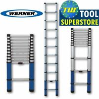 Werner EN131 3.2m Multi-Purpose Aluminium Telescopic Ladder Extension Extendable