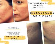 Cáscara de eliminación de cicatrices para el acné y cicatrices melladas.