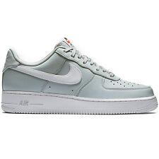 2015 Nike Air Force 1 Low SZ 9 Pure Platinum White Zen Light Grey AF1 488298-091