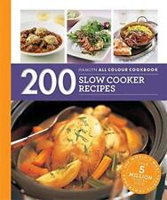200 Slow Cooker Recipes: Hamlyn All Colour Cookbook by Lewis, Sara, NEW Book, (P