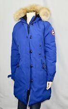 Canada Goose Kensington Women's Parka Coat Fur Pacific Blue Coat Jacket XL