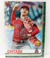 2019 Topps Holiday Shohei Ohtani SP SSP Variation Christmas Stocking #HW16