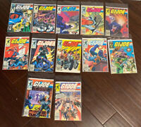 G.I. Joe Comic Lot.  Marvel Comics.  11 Issues plus Annual #1