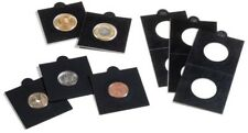 25 BLACK LIGHTHOUSE 22*5mm SELF ADHESIVE 2x2 COIN HOLDERS - Suit 2 Cent & $2