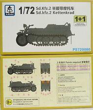 Sd.Kfz.2 Kettenkrad ,1/72, S-Model ,Doppelpack 2 Modelle , NEU,