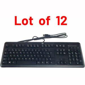 12x - HP Smartcard CCID USB Keyboard, Brazilian Portuguese 700847-201 701671-201