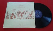 "GENESIS ""A Trick Of The Tail"" 1976 LP Venezuela ON PHILIPS LABEL PETER GABRIEL"