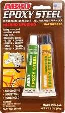 ABRO WELD EPOXY STEEL 60-90 MINUTES SET STRONGEST Epoxy 57G Cheapest on Ebay