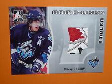 05-06 ITG Sidney Crosby Canada Emblem / Patch 4CLR # /30 RC *1/1?*  RARE ROOKIE