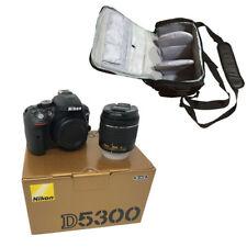 NEW Nikon D5300 + AF-P DX 18-55mm VR + KamKorda Bag - UK NEXT DAY DELIVERY