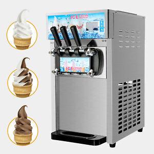 Sorbetière Machine à Glace Italienne Congelé Crème Glacée 18L Automatique