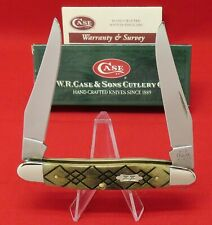 Case XX MUSKRAT SS Black Diamond 2003 Mint Knife in Original Box, Item #06124