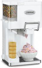Cuisinart Mix It In Soft Serve 1-1/2-Quart Ice Cream Maker, White
