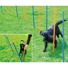 Easy to Set up Barkshire Dog Agility Weave Poles
