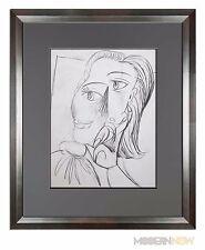 P.Picasso Limitierte Edition Lithographie Royan Justification + Maßgefertigt