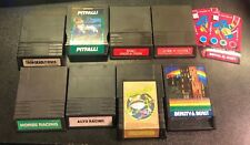 INTELLIVISION LOT Pitfall! Frogger Tron Lock Chase Horse Racing Beauty Beast