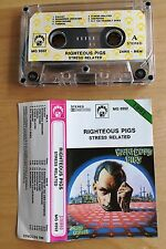 RIGHTEOUS PIGS - Stress Related MC RARE POLISH PRESS 1991