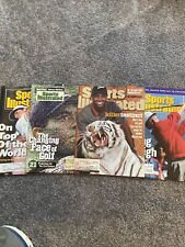Tiger Woods And Other GOLF , Lot Of 4 , Sports Illustrated 1992,1998