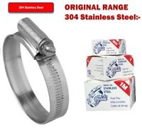 Jubilee Clip Hose Clamp 120-140mm Stainless Steel 201