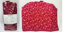 Allary Sewing Machine Cover - Red Floral Design