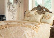 Königlich! Bettwäsche Set 4-teilig Mako-Satin creme 200x220 cm Bettbezug+Laken