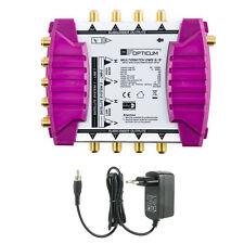 Opticum multi interruptor digital sat 9/8 FULL HDTV HD 4k blindados participantes conmutación múltiple