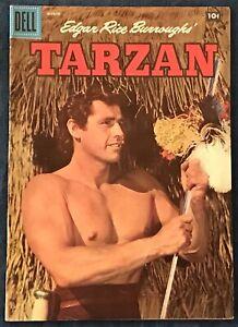 Tarzan #90  March 1957  Gordon Scott