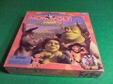 Shrek 2 Monopoly Junior 2004 Parker Brothers Board Game