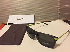 NEW Nike - MDL 252 - Sunglasses, Matte Crystal Dark Grey/Volt/Grey, EV0776-017