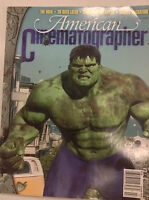 American Cinematographer Magazine The Hulk July 2003 040917nonrh2