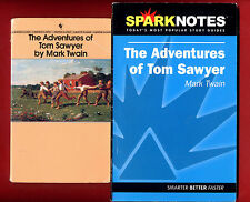 Tom Sawyer by Mark Twain & SparkNotes study guide - Free Shipping!