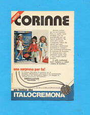 TOP976-PUBBLICITA'/ADVERTISING PAGE-1976- ITALOCREMONA -BAMBOLA CORINNE (vers.A)