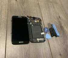 GO FOR SAMSUNG GALAXY Note 2 II GT-N7100 LCD TOUCH SCREEN DIGITIZER FRAME GREY
