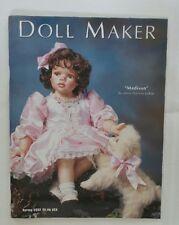 DOLL MAKER Magazine SPRING 2002 Madison Doll Artist Theresa LoBue UNCLE SAM HAT