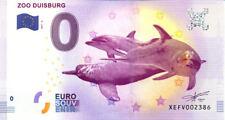 ALLEMAGNE Duisburg, Zoo 5, 2017, Billet 0 € Souvenir