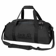 Jack Wolfskin Action Bag 35 Litre Sports Holdall Travel Bag - Black