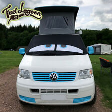 VW Screen Cover Transporter T5 Deluxe Blue Eyes Curtains Window Screen Camping