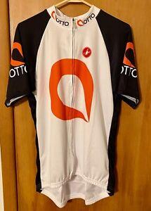"CASTELLI Ottolock Team Full Zipper Jersey - Men's Size 3XL (Fits 45"" Chest)"