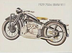 1929 750cc BMW R11.  Colour Picture/Drawing