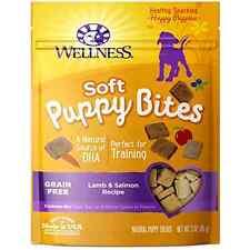Wellness Soft Puppy Bites Natural Grain Free Puppy Training Treats Lamb & Salmon